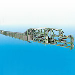 Picture of Tire Tube Machine for Bicycle Tread Cooling & Winding Conveyor