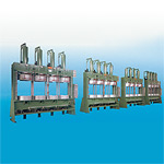 Four Molds Hydraulic Type B-O-M Press For Model No AW-20-M2/AW-20-M4/AW-24-M4/AW-28-M4