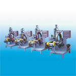 Picture of Motorcycle Tire Wrapping Machine for Model No AW-WRA-1